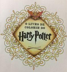 Harry Potter para colorir #colorterapia #coloringbook #livrosdecolorir