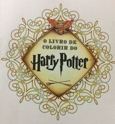 Livro de color do Harry Potter