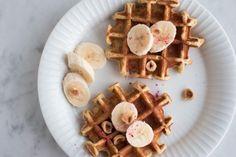 Havregrødsvafler med kanel og banan (Anne au Chocolat) | Havregrødsvafler med kanel og banan | Anne au Chocolat | Bloglovin'