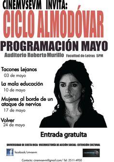 Mes de Almodovar en Cine Museum  costaricagratis.com