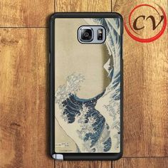Hokusai The Great Wave Samsung Galaxy Note 6 Case