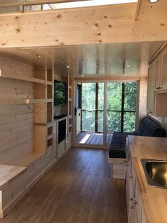 ESCAPE Model One Tiny House with Screened In Porch 004