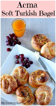 Acma – Soft Turkish Bagel - My Cooking Journey ...