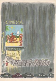 """""""Comment on s'enrhume à Paris"""", 1961, Jean-Jacques Sempé"""