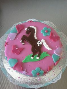 Paarden taart