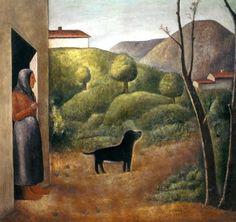 1941 Francis Picabia Donne con bulldog