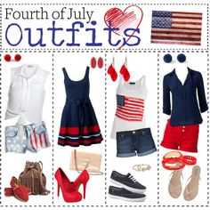 Patriotic outfit