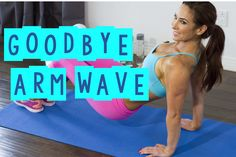 Best Tricep Exercises To Get Rid Of That Flabby Arm Wave | with Natalie ...