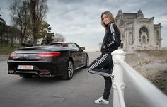 Simona will drive a Mercedes Benz S63 4 Matic Cabriolet this summer