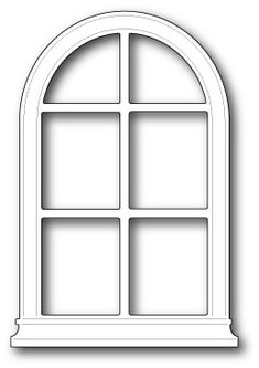 Look what I found on Memory Box Poppystamp Die-Small Madison Arched Window Arched Windows, Windows And Doors, Window Clipart, Victorian Windows, Vitrine Miniature, Window Cards, Window Frames, Store Interiors, Christmas Templates