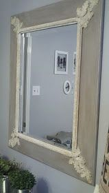 Annie Sloan chalk paint: Paris Gray & Antique White... Amanda Carol at Home: Chalk Paint.....oh how I love thee