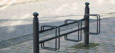 Münster, public design,  Fahrradständer, Fahrradanlehner, bicycle stands, Stadtmobiliar, street furniture
