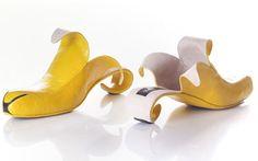 More Kobi Levy shoes, I think Whoopi Goldberg has a pair of banana's