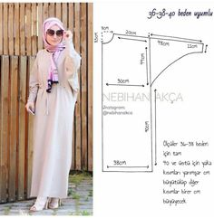 What I'm Sewing: Practical Maxi Dress Up (Sewing, Fashion, Design) - 2019 Hijab Clothing Motif Abaya, Dress Sewing Patterns, Clothing Patterns, Sewing Clothes, Diy Clothes, Hijab Dress, Dress Up, Dress Couture, Abaya Fashion