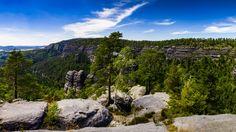 Czech Switzerland Pano View by Michal Valenta on 500px