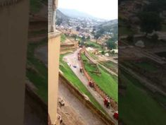 O My God What a pleasant view of Amer fort jaipur