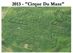 Harvest Gay Spirit Camp will include a trip to the Schuyler Farm corn maze--this year's theme, Cirque du Maze! http://eastonmountain.org/harvest-gay-spirit-camp/