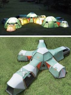 OMG that is the coolest tent ever!