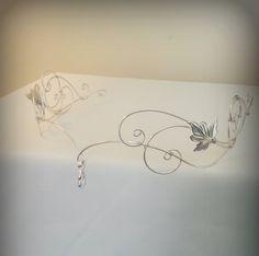 Head Jewelry, Wire Jewelry, Jewellery, Elven Princess, Winter Princess, Renaissance Fair Costume, Fairy Crown, Elvish, Fairy Dress