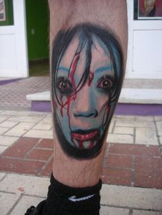 Intimidating girl meaning tattoo