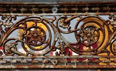 rusted pattern