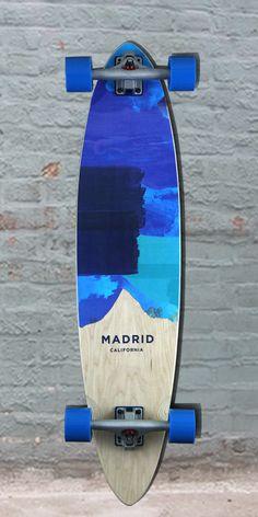 Longboards USA - Blues Blunt 38 pintail Longboard Madrid 2016, $159.00 (http://longboardsusa.com/blues-blunt-38-pintail-longboard-madrid-2016/)