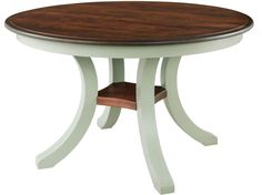 Amish Harrison Single Pedestal Dining Room Table - Keystone Collection