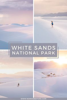 To fully experience White Sands National Park in southern New Mexico, go camping among the alabaster dunes. Check out this guide for tips on snagging one of the 10 backcountry camping spots. Cool Places To Visit, Places To Travel, Travel Destinations, Places To Go, Utah, Grand Canyon, Us National Parks, Parc National, Empire State Building