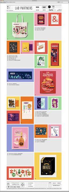 Oldie but goodie: Lab Partners website & shop
