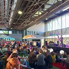 Were you among the crowd of more than 7,000 people who flocked to @hustleandscout and @theforage markets on the weekend? The popular Hustle&Scout: Twilight Fashion Market and The Forage Food Fair are a fusion of food and fashion held in a 1940s aircraft hangar. Photo: Instagrammer rachiperera #visitcanberra #seeaustralia