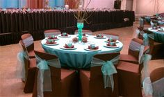 turquoise and chocolate wedding - Google Search
