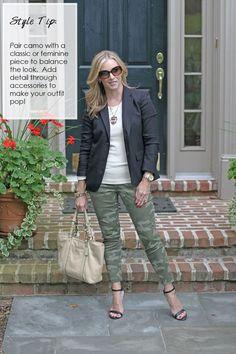 Camo crush!  How to perfectly pair this hot trend.  http://www.simplylulustyle.com/2013/09/how-to-wear-camo-giveaway.html