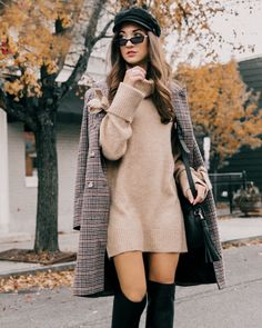 Winter Outfits to Shop Now Vol. 5 / 51 Winter Outfits to Shop Now Vol. New York Outfits, Hm Outfits, Paris Outfits, Winter Dress Outfits, Cute Winter Outfits, Outfits With Hats, Fashion Outfits, Fashion Trends, Dress Winter