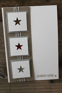 PaperArt Stempelgarten: Workshop-Basteleien How To Choose Laminate Flooring For Your Home Article Bo Homemade Christmas Cards, Homemade Cards, Handmade Christmas, Holiday Cards, Christmas Crafts, Christmas Family Feud, Workshop Layout, Star Cards, Diy Cards