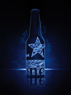 'STR-UV' bottle heineken