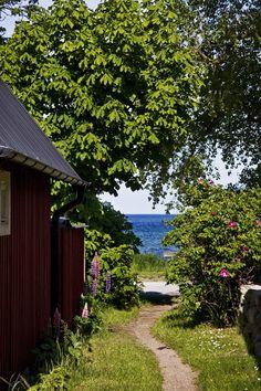 Summer in Sweden - summer house Casa Jenner, Country Life, Country Living, Swedish Cottage, Summer Dream, Summer Garden, Summer Days, Belle Photo, Paths