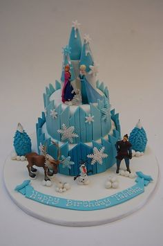 "Search Results for ""castle"" – Beautiful Birthday Cakes # frozen birthday cake Fairy Castle Cake, Frozen Castle Cake, Disney Frozen Cake, Disney Cakes, Castle Cakes, Frozen Party, Frozen Themed Birthday Cake, 2 Birthday Cake, Castle Birthday Cakes"