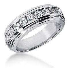 Wedding Rings On Sale Online; Jewellery Jhumka, Diamond Wedding Rings For Sale; Jewellery Brands Harvey Nichols lest Jewellery Eller Jewelry Mens Diamond Wedding Bands, Wedding Band Sets, Wedding Men, Dream Wedding, Trendy Wedding, Perfect Wedding, Wedding Ideas, Platinum Diamond Rings, Diamond Bands