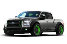 Ford got their Formula Drift dude Vaughn Gittin Jr. to step away from a Mustang for five minutes and help design a custom 2015 Ford and not only is it not terrible, it actually looks kind of perfect. Ford Trucks, Pickup Trucks, Tanzania, Ford Specials, Drift Truck, Carros Audi, Ford F150 Raptor, Ford F Series, Show Trucks