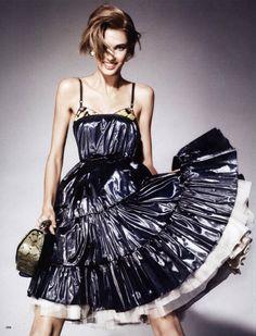 """The Legend of Simplicity"" Vogue Japan, Jan. 2011 Model: Kendra Spears"