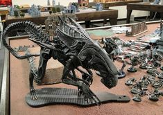 Aliens Movie Styled Tyranids - Armies on Parade - Bell of Lost Souls