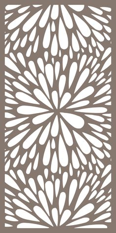 Seamless Floral Flourish Pattern Vector Free Vector