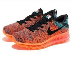 8bbfc6c249dd Men s Nike Flyknit Air Max Running Shoes Wolf Grey Court Purple Vivid Blue