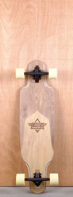 "Dusters Prebuilt 34"" Channel Split Maple Longboards"