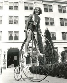 Bicycle Celebrities Famous People riding bicycles | Old bike.