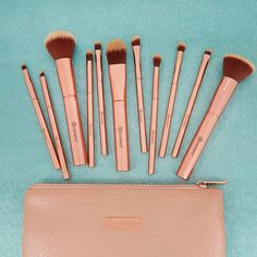 BH Cosmetics | Metal Rose Brush Set