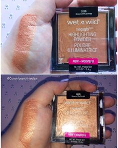 Drugstore Mini Review: Wet'n'Wild Megaglo Highlighter in Crown of my Canopy   Highlighter that's quality isn't always the easiest to come by, but Wet'n'Wild did their job here! Want to try out the new Wet'N'Wild mega glow highlighter? I've swatched Crown of my Canopy! The top picture is my swatch with no flash. Bottom [...]