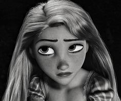 And I present to you Rapunzel Fitzherbert,  who supposedly looks like me.