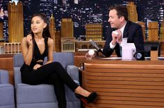 Ariana Grande Nails Impersonations of Britney Spears, Christina Aguilera & Celine Dion