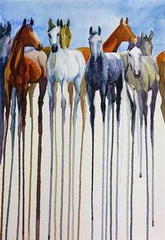 "Daily Paintworks - ""herd_2"" - Original Fine Art for Sale - © Beata Musial-Tomaszewska"